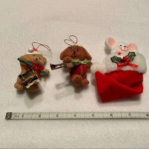 Avon Merry Marchers & Peek-a-Boo Ornaments
